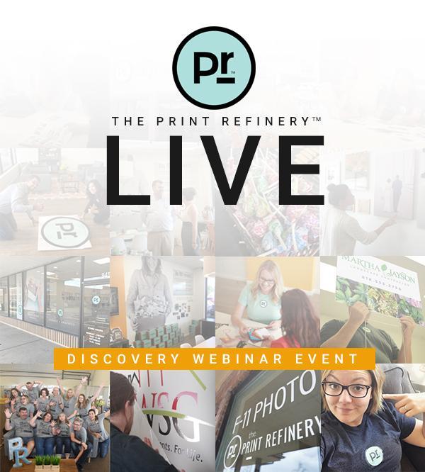 Webinar: Discover The Print Refinery!